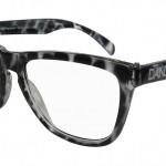 Black Clear Tortoise Frame X Clear Lens